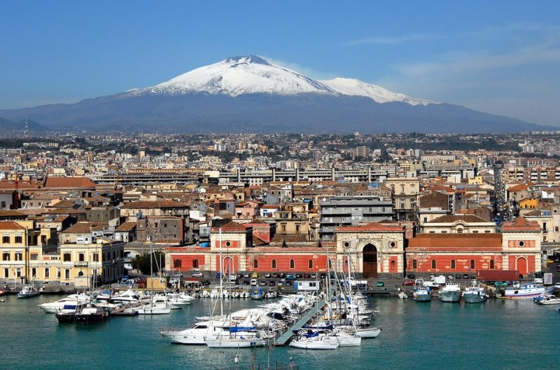 Catania látnivalók